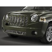 GRILLE DE CALANDRE JEEP COMPASS (CHROME)