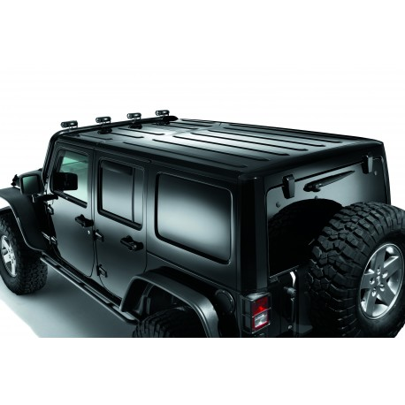 Toit rigide jeep freedom top noir