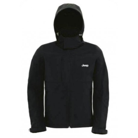VESTE SOFTSHELL JEEP HOMME (L)
