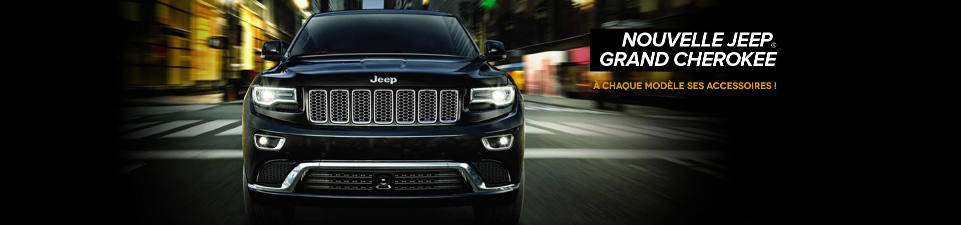 Accessoires jeep Cherokee