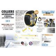 Colliers antidérapants d'urgence pour neige et boue