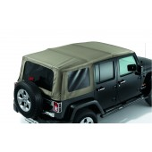 CAPOTE SOUPLE SUNRIDER JEEP WRANGLER UNLIMITED (KAKI)